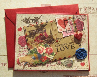 Love Letter Collage