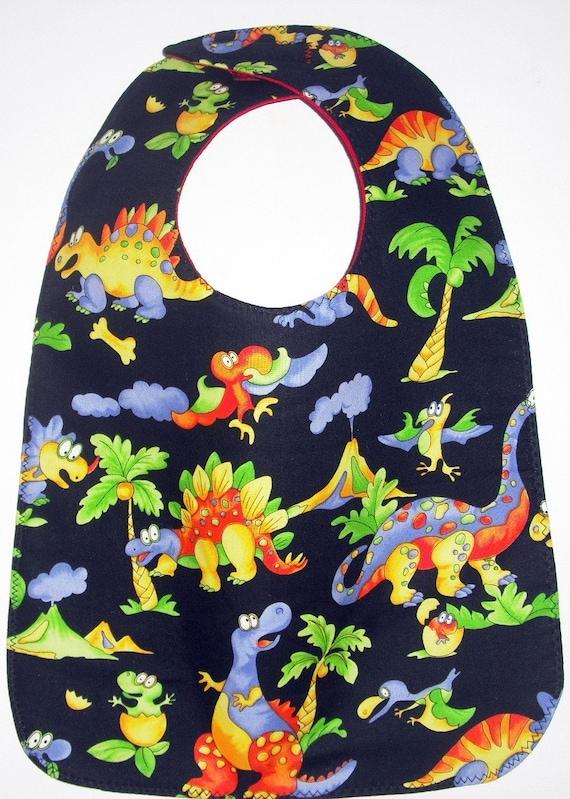 Whimsical Dinosaurs Toddler / Baby Bib