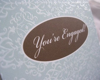 HateMail - This Cow Is Sold - New Engagement Greeting Card
