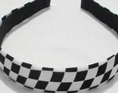 Checker Board Headband Hairband