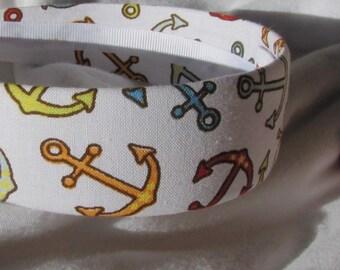 Anchor Nautical Headband Hairband
