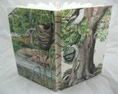 Nature Custom Watercolor Journal - RESEVED FOR RAGENJ