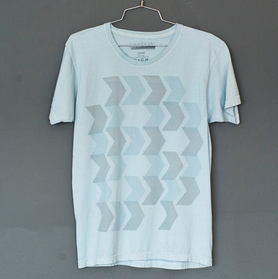 SALE - 60 seconds of living the good life - hand dyed tshirt, LAST XL