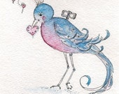 Love Bird ACEO Limited Edition Print