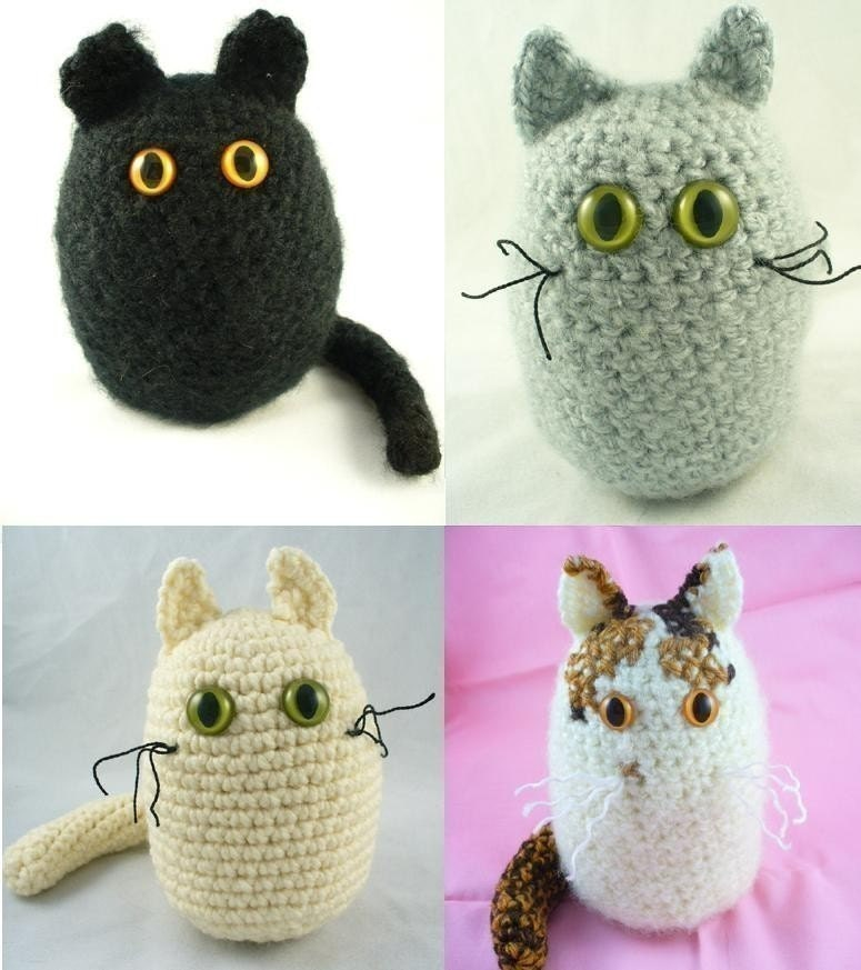Crochet Amigurumi Cat PATTERN