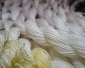 MAGNOLIA     Size 20    hand dyed TATTING crochet embroidery CQ cotton thread   6 cord