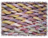 FAERIES     Size 20    hand dyed TATTING crochet embroidery CQ cotton thread   6 cord