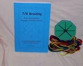Simple Kumihimo Braiding Kit and Book