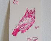 Gift Card (Oo, otus asio)