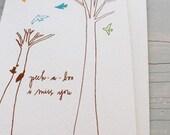 Gift Card (Peek-a-Boo I Miss You)