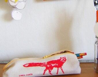 Pencil Case (fox)