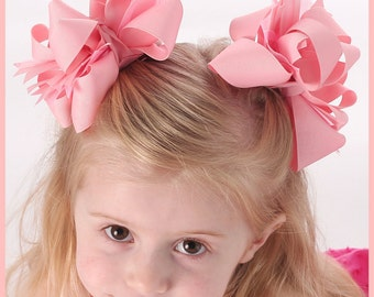 Instant Download Hair bow instructions - How to make hair bows - twisted boutique, over the top OTT, and layered hairbow tutorial
