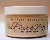 Wild Rose and Honey Facial Masque, 1.3oz jar, about 7 applications for OILY SKIN