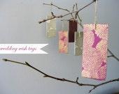 Wedding Guest Book Alternative - Wishing Tree - Tags