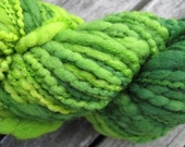 FAST PROJECT - Chunky Merino Yarn - Cucumbers colorway - Varigated