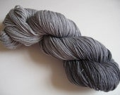 NEW Jewel Collection w\/REAL SILVER - Marcasite colorway- Sock \/ Fingering Yarn