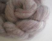 superwash wool roving custom blended DAWN MIST HEATHER 4 oz.