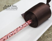 Cheetah Love Ribbon Wand