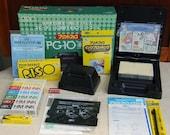 Print Gocco PG-10 full kit