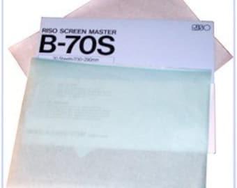 Riso Print Gocco Screen Master -unframed mesh EMS