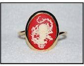Skull and Dragon Bracelet