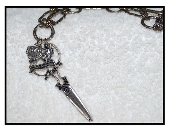 Love Sewing Chatelaine Necklace