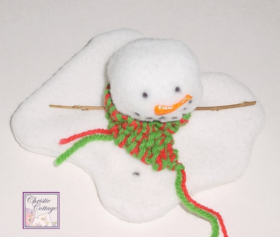 Melting Snowman, Christmas Decoration, Winter Decoration
