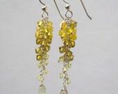 Lemon Cascade Earrings