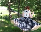Betty circle skirt in Tea Length