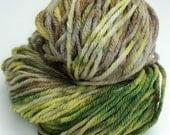 Camo Hand Painted Bulky Yarn 150 Yards