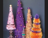SALE Everyday Holiday Christmas Tree Digital PDF Crochet Pattern by Peggytoes Decoration Decor Many Sizes and Styles Yarns Tips Ornaments