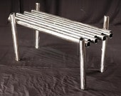 modern pipe coffee table