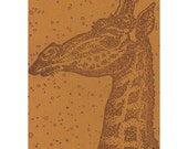 The Giraffe ORIGINAL LIMITED EDITION ACEO