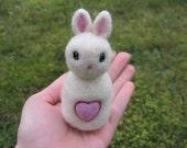 Little White Love Bunny