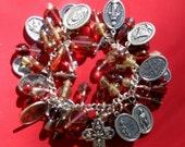 Red Zinger Santos Bracelet-free shipping