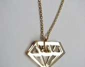SALE KV Diamond Necklace Gold