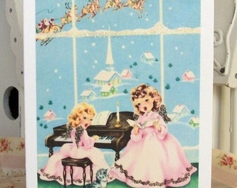 Christmas Angels Cards .Set of 8