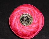 090 Oren Bayan size 50 variegated tatting and crochet thread