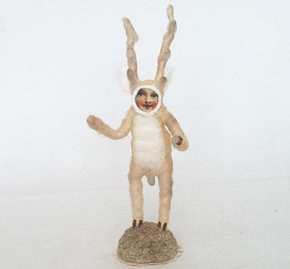 Spun Cotton Vintage Style Deer Boy