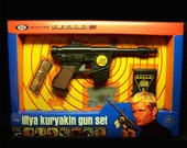 Ideal 1965 Man From UNCLE ILLYA KURYAKIN gun set REPROduction toy box