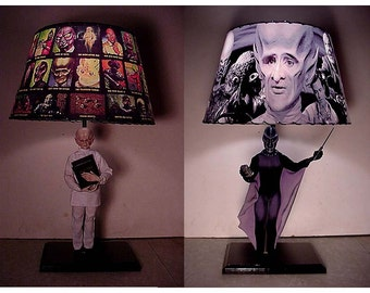 Original 60s Outer Limits Lamp and Lamp Shade
