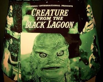 Custom CREATURE from the Black Lagoon LAMP SHADE