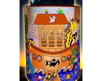 Noahs Ark custom made CHILDRENS MOTION LAMP
