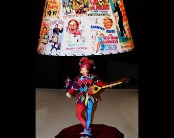 Danny Kaye Movie Posters Lamp and Lampshade shade