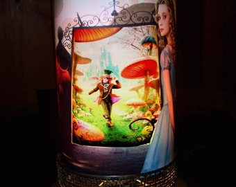 Alice In Wonderland MOTION LAMP