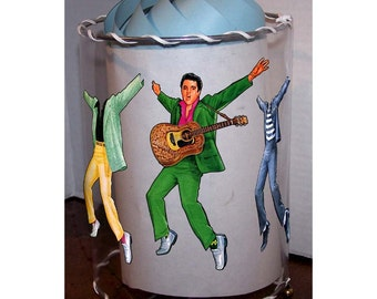 Elvis PAPER DOLL MOTiON LaMP