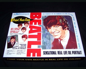 Ringo Starr Beatles PAINT By NUMBER KIT reproduction Artistic Creations 1965