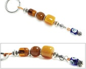 Keyring-Key Chain - High Quality Artificial Resin with Evil Eye - C and B