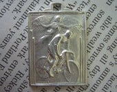 PRE-ORDER NOW- Bicycle Pendant - Guardian Angel