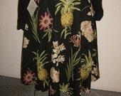 Pineapple Swing Skirt